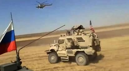 El Ministerio de Defensa comentó sobre el incidente con el convoy estadounidense en Siria