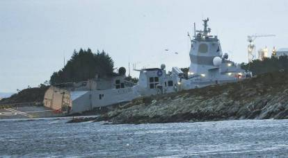 Culmination of NATO exercises: frigate rammed tanker