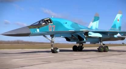 Su-34 received new combat capabilities
