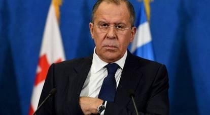 Lavrov ha detto che minaccia l'Europa