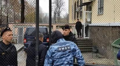I marinai ucraini iniziarono ad essere arrestati in Crimea