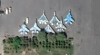 Les Russes ont apprécié le parking trop compact du Su-57 et du drone Okhotnik