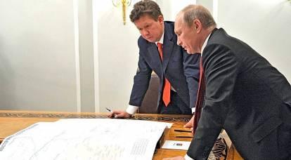 Sly Miller et sournois Poutine. Qui a gagné le retard dans le lancement de Nord Stream 2