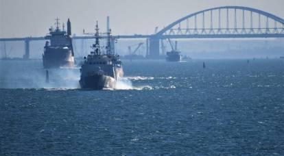 Kerch Strait is again open for civilian courts