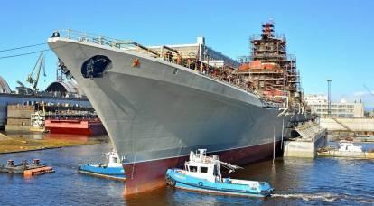 """Medios estadounidenses: ¿Se convertirá realmente el crucero """"Admiral Nakhimov"""" en el barco más fuerte del mundo?"""