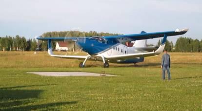 Un paso adelante: Rusia revivió aviones pequeños