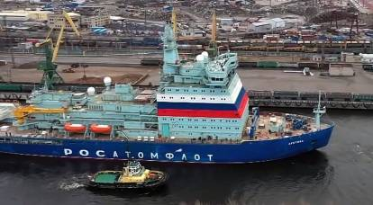 China is not a competitor: Russia has laid down the fourth most powerful icebreaker in the world