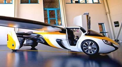 ポルシェ車は本当の意味で飛行を開始します