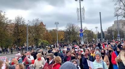 """""""Tutti si siederanno"""": lo sciopero generale di Tikhanovskaya è fallito"""