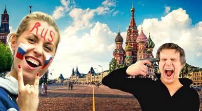 En Europa, los rusos fueron llamados salvajes.