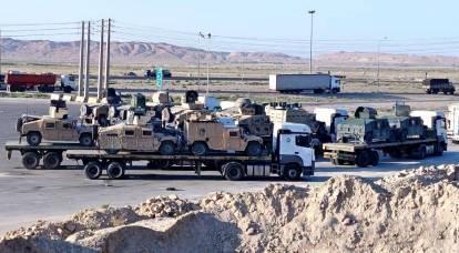 L'equipaggiamento militare americano ereditato dai talebani viene attivamente portato in Iran