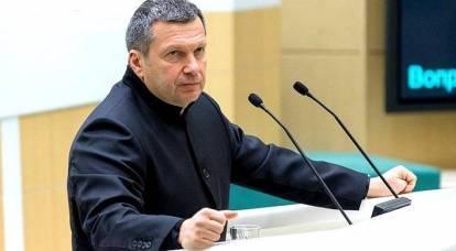 Il discorso di Solovyov al Consiglio della Federazione ha fatto saltare in aria Internet