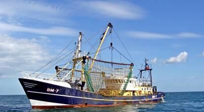 Privata dell'industria pesante, anche l'industria ittica viene portata via dai Baltici