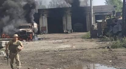 L'attacco di rappresaglia del DPR contro la base aerea ucraina ha colto di sorpresa quest'ultima