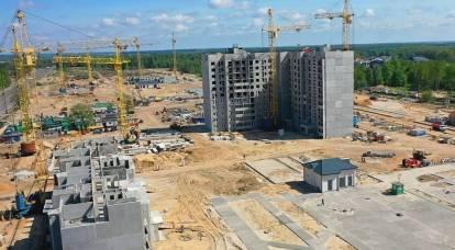 Il luogo per la nuova città in Siberia non è stato scelto a caso
