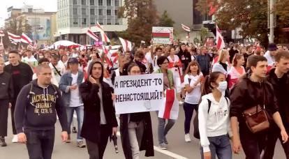 Quais são as razões do protesto bielorrusso e a que levará a vitória da oposição