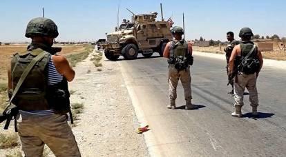 美军在叙利亚看到俄罗斯伞兵后被迫撤退