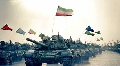 イランはアゼルバイジャン国境に大きな力を引き寄せます