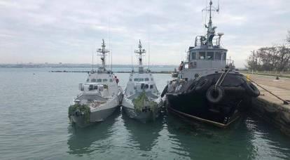 I marinai ucraini hanno ammesso: è stata una provocazione