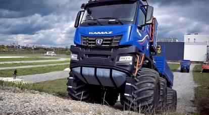KamAZ proverà il nuovo camion per l'Artico