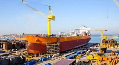 È troppo presto per la Russia per parlare del rilancio della propria costruzione navale