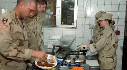 Il sistema di alimentazione dell'esercito americano: alcuni fatti e caratteristiche