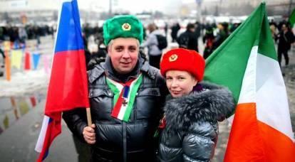 Cómo los rusos cambiaron la vida de un irlandés