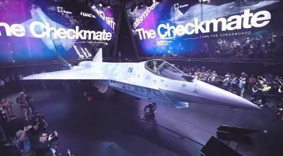 """El nuevo caza ruso Su-75 tiene """"raíces americanas"""""""