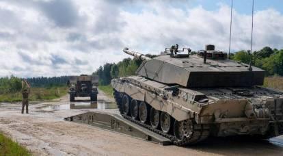 Tripulações de tanques britânicos para garantir a segurança da Estônia