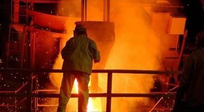 由于创纪录的电价,英国钢铁产量减少