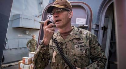 Il comandante della 5a flotta americana si suicidò