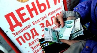 Prestiti al 730% annuo: come impazziscono i russi