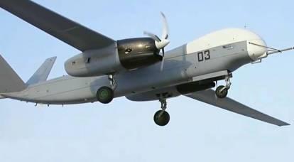 """Il nuovissimo drone russo """"Altius"""" ha sparato per la prima volta su bersagli a terra"""