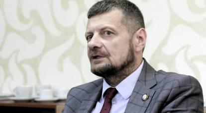 Verkhovna Rada deputy put on the shoulder blades in a television studio