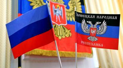 """West against Russia - the first blow will be on the """"unrecognized republics"""""""