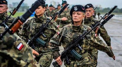 Against whom are the Poles deploying a new division?