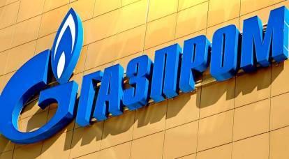 L'Ucraina ha reagito contro Gazprom