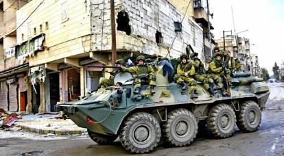 Infuriato, Erdogan si è imbattuto nell'esercito russo in Siria