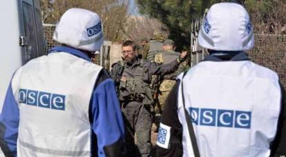 """Kiev está infeliz: OSCE não encontrou vestígios de """"agressão russa"""""""