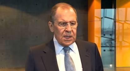 Lavrov, Federal Almanya Cumhuriyeti'nin Yahudileri ablukaya almak için aylık emekli maaşı ödeme kararına öfkelendi
