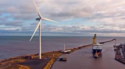 In Europe intend to build a gigantic wind turbine