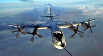 "Il Tu-95 russo ""Bear"" trollò gli americani"