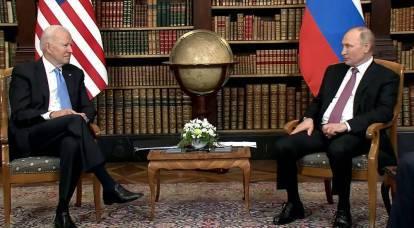 Biden ha parlato dei suoi sentimenti, stando davanti a Putin
