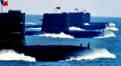 I sottomarini cinesi hanno portato il Giappone in un cerchio di fuoco