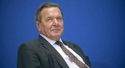 """Gerhard Schroeder was in the base of enemies of Ukraine site """"Peacemaker"""""""