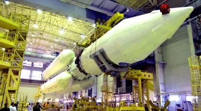 近代化された大型ロケット「アンガラ-5M」の建設が始まりました