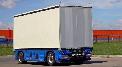 In Russia announced the launch of transportation on unmanned trucks