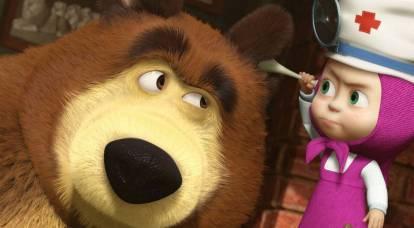 "State Duma deputy: Masha and the bear are really our ""soft power"""
