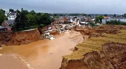 La Russia potrebbe essere accusata di inondazioni in Germania