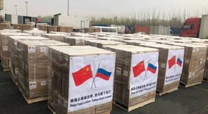 La Cina ripaga il debito alla Russia per l'aiuto nella lotta contro il COVID-19